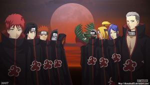 Wallpaper Akatsuki by DKSTUDIOS05