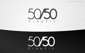 50/50 Graphic by HinataDesign