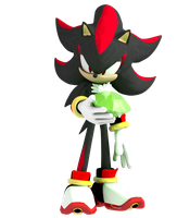 Shadow the Hedgehog by RayPenguin