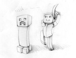 Some Minecraft by Shingo-Hayasa