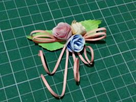 Mini-Roses Papercraft by bslirabsl