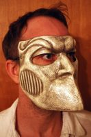 Bauta Mask antique-white by Faust-and-Company