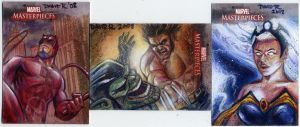 Marvel Masterpieces III Cards2 by DavidRabbitte