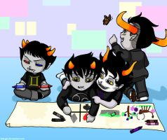 (HS) Altergarten: Group Project by lildogie
