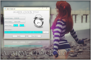 Alarm Clock 1.0 by milano88