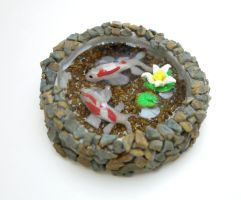 Koi Pond FINISHED by SmallCreationsByMel