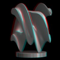 26-01-13 Maquette (3D anaglyph). by bjman