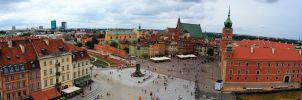 The Old Town Warsaw by gregivan