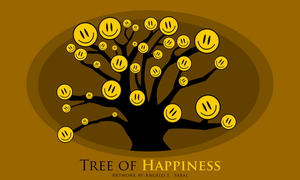 tree of happiness by blue2x