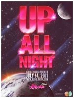Up All Night Premier Poster by AdNinja