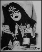 Ace Frehley by Pepsitate
