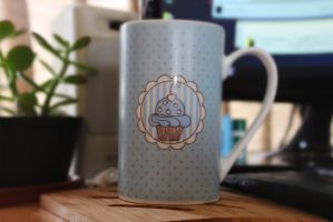 This is a mug by Izene