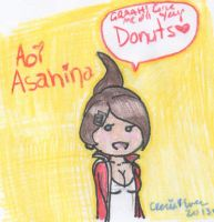 SHSL Donut Lover by cleris4ever