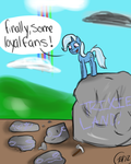 The great and desperate Trixie by 8-Blit-Poni