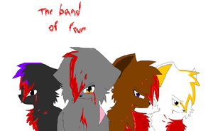 The Band Of Four by ichimeinu