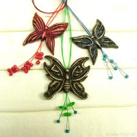 Butterflies - Colorful necklaces by AmberSculpture