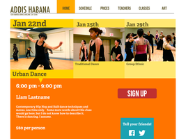 Addis Habana- Home Page by Azadoroz