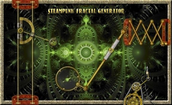 Steampunk Fractal Generator by quartertime