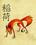 Inari by FoxInShadow