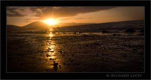 Bunawonder Strand at Sunset 2 by RichyX83
