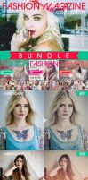 Fashion Magazine Actions -BUNDLE- by LuciferB