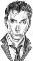 David Tennant by girlinterruptedbyart