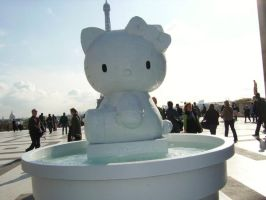 Crying Hello Kitty by elbos