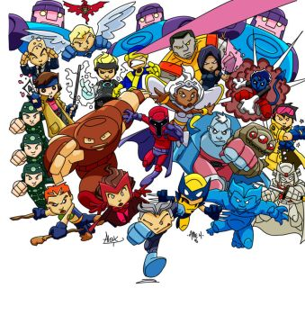 Ty's Mini Marvel Mania Colors by AgentBiLL