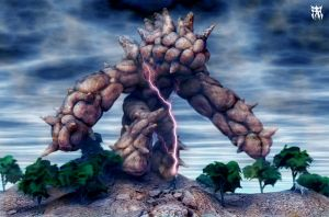 Earth Colossus by Tideger