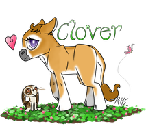 Clover the Cow by 14Dreamer
