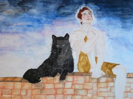 The Wolf by Tricia-Danby