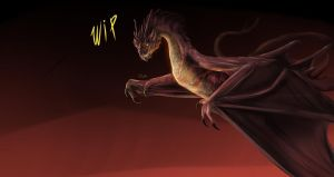 Smaug WIP by Lord-FurFur