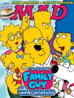 family guy- the simpsons by Cokewoman