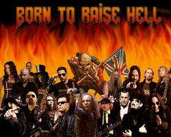 Born to Raise Hell by Commandorion