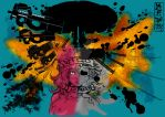 Mushroom dreams ands Atomic rorschach by MaKuZoKu