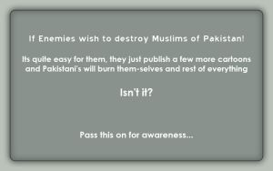 Message Of Awareness by pakistanis