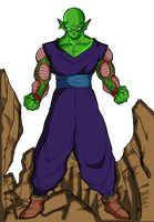 Piccolo by RedDBZ