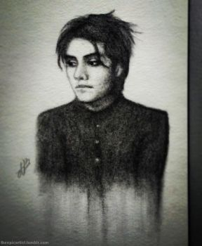 Gerard Way by THEEPICARTIST8