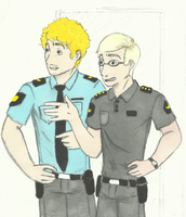 Two officers more. by anorwegan