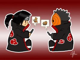 Itachi n Tobi: Catch 'Em All by Roscofox