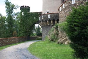 Castle for Princess 3 by pelleron-stock