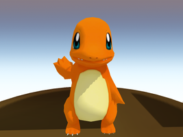 MMD , Charmander , Pokemon DL by brenokisch