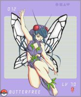 Butterfree Girl by Silvaras