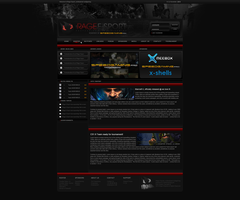 iRage E-Sport +Webdesign by asianlucas