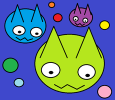 Cat Planet by LuciLuc