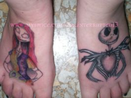 jack and sally color by lisa-rowe