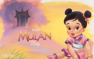 Baby Mulan by Alce1977