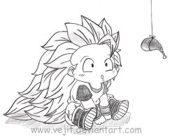 Little hungry Goku by Vejit