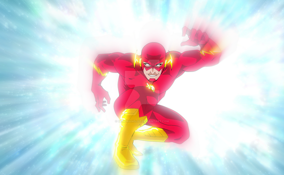 The FLASH - Entering Speed Force by DEMONAnelot