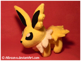 Jolteon Mini-Minky Plush by Allyson-x